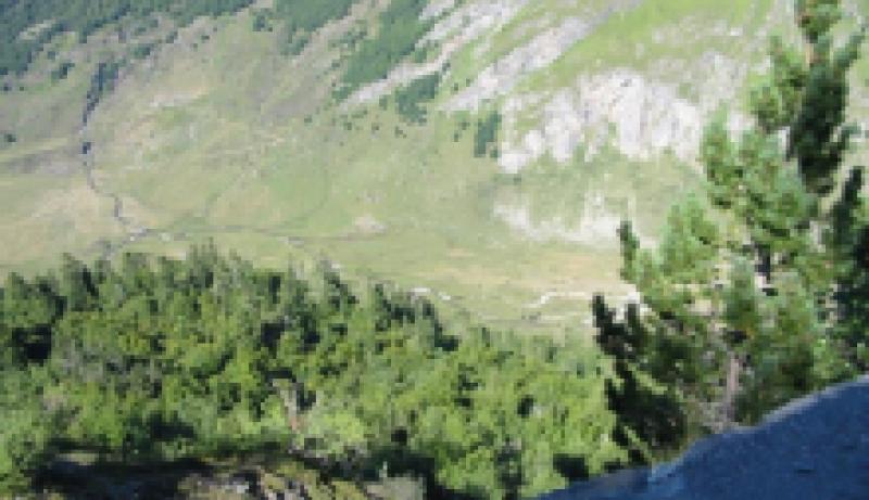 vallee du soussoueou vue du petit train d'artouste
