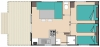 mobil home 5 personnes 2 chambres